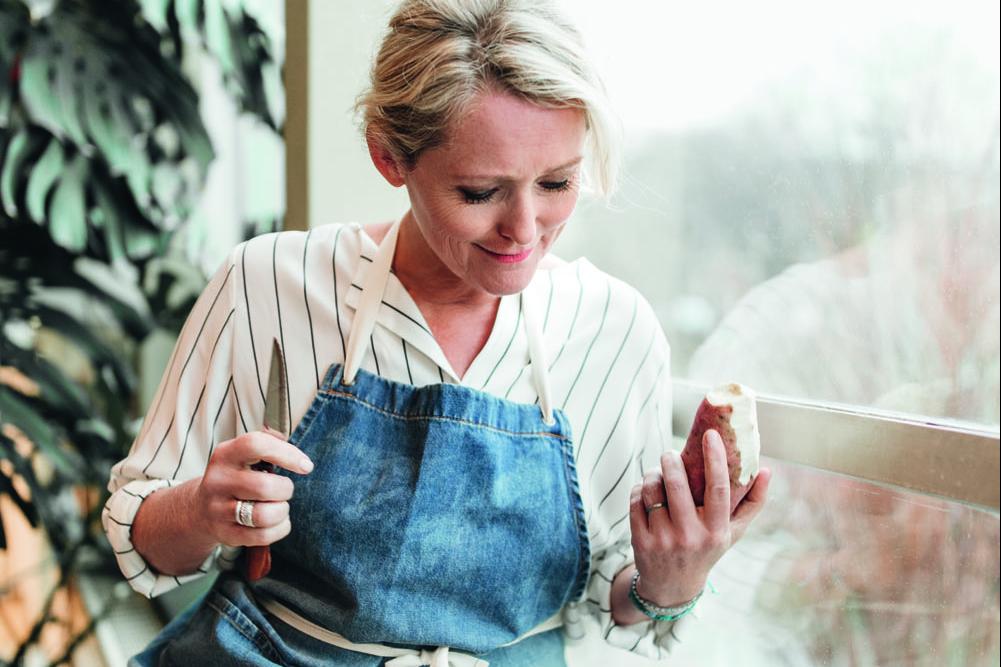 Antoinette maakt Thaise soep